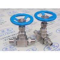 Buy cheap Thread weld stop valve for chemical liquid fluid transfer PN0.6 Mpa to PN80 Mpa DN2 to DN65 from wholesalers