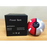 Buy cheap 2016 Newest  Design 10000mAh Pokemon Go Pokeball  Magic Ball LED Light Portable Power Bank Powerbank For Mobile Phone from wholesalers