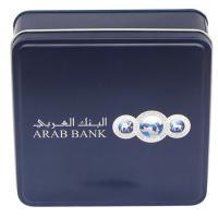 Buy cheap Black Vanish Square Tin Box 0.20 - 0.40mm Small For Arab Bank from wholesalers