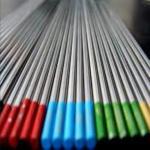 Buy cheap tungsten electrodes welding electrode for TIG welding 2.4mm x 150mm sky blue WL20  electrodes welding rod for TIG weldin from wholesalers