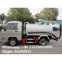 Buy cheap Forland mini 4*2 LHD/RHD vacuum truck for sale, factory direct sale cheapest price Forland 2-3m3 septic tank truck from wholesalers