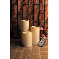 Buy cheap SET OF 3 FLAMELESS OUTDOOR CANDLES from wholesalers