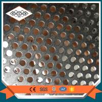 Buy cheap SS 304 perforated filter mesh  / decorative perforated metal mesh from wholesalers