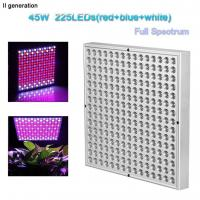 Buy cheap Indoor Greenhouse Led Grow Lights Panel PC Cover With 10W Wattage product
