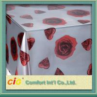 Buy cheap Wholesale Disposable PVC Table Cloths / PP Non-woven Tablecloth for Wedding / Hotel product