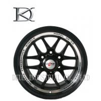 Buy cheap Low Pressure Replica Bbs Black Alloy Wheels 17 x 6.5 100 - 114.3 PCD from wholesalers