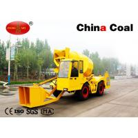 Buy cheap Mobile Cement Mixing Road Construction Machinery  1cbm Self Loading Cement Mixer Truck from wholesalers