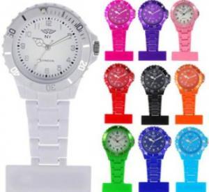 China Custom Silicone nurse watch on sale