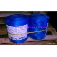 PP Split Film Polypropylene Baling Twine , Hay Bale Twine Blue Color
