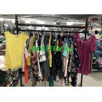 Buy cheap Wearable Second Hand Summer Clothes , British Style Used Womens Cotton Blouses from wholesalers