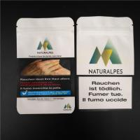 Buy cheap THC CBD Gummies Herbal Incense Packaging Biodegradable White Craft Paper Food Pouches from wholesalers