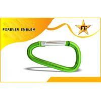 Buy cheap Open Aluminum Carabiner Hook Engraved , Stainless Steel Carabiner Snap Hook from wholesalers
