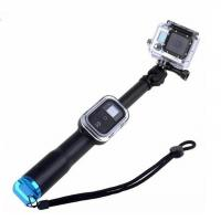 Buy cheap 39 Inch Waterproof Handheld Selfie Stick Monopod For Gopro 5 3+ 3 4 Session With WiFi Remote Clip from wholesalers