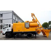 Buy cheap Truck Batching Concrete Pump with Mixer from wholesalers