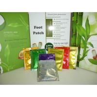 Buy cheap Silver , gold Detox Foot Patch , foot detoxification pads with chinese herbal fomulation from wholesalers