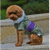 Buy cheap Fashion dog clothes for winter jacket dog apparel from wholesalers