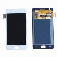 Buy cheap Cellular Phone LCD Screens for Samsungi9100 (Black, White), Sized 4.3, 800 x 480 Pixels Resolution from wholesalers