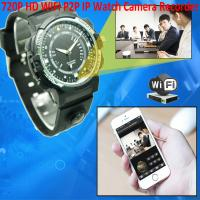 Buy cheap Y30 8GB 720P WIFI P2P IP Spy Watch Hidden Camera Recorder IR Night Vision Motion Detection Remote Video Monitoring from wholesalers