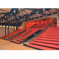Popular Upholstered Arena Stage Seating With Optional Aisle Lights