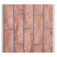 Buy cheap X Hollow Core Structure Plastic Brick Wall Panels , Decorative Plastic Wall Covering Sheets from wholesalers