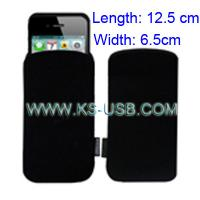 Buy cheap Black Mobile Phone Carry Bag for iPhone 4   $0.33 from wholesalers