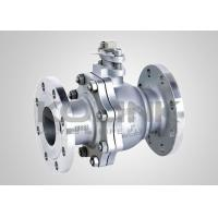 Buy cheap Stainless Steel Ball Valve 2-pc Split-body Floating Ball CF8 CF8M from wholesalers