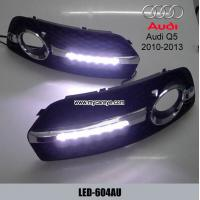 Buy cheap AUDI Q5 6 LED cree DRL day time running light kit fog driving daylight from wholesalers