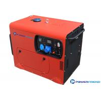 Buy cheap Electric Start Home Backup Small Portable Generators With Wheels 3 Phase 5KW 220V from Wholesalers