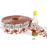 Buy cheap Plastic PVC Shrink Sleeve Label For Beverage Bottle Or Fruit Juice from wholesalers