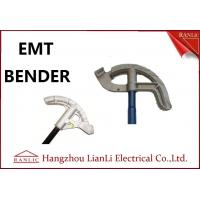 Buy cheap 3/4 1 Aluminum EMT Conduit Bender Conduit Tools with Blue / Yellow / White Handle from wholesalers