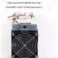 Buy cheap New Antminer S9 ~13.5TH/s @ .098W/GH 16nm Bitcoin Miner ASIC Chip Mining machine from wholesalers