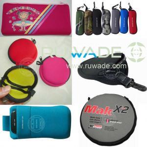 Buy cheap Neoprene pencil coin glasses lens CD DVD case, neoprene glasses mobile phone pouch product