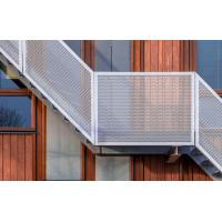 Buy cheap Decorative Perforated Aluminum Metal Sheet Fence Perforated Facade Panel from wholesalers