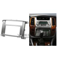 Buy cheap 2 Din Car Stereo Car Radio Fascia For Toyota Land Cruiser 100 Lexus LX-470 from wholesalers