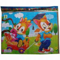 Buy cheap Children's Jigsaw Paper Puzzles, OEM and ODM Orders are Welcome product