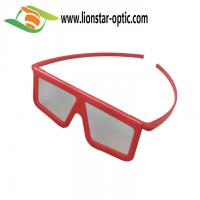 Buy cheap augmented reality linear polarized 3d glasses from wholesalers