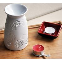 Buy cheap Customized Ceramic Aroma Aromatherapy Oil Burner with Tart Warmer For Tealight Candles TS-CB148 from wholesalers