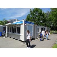 Buy cheap PU Panel Modern Customized Conex Box Homes For Shop Easy To Be Assemble And Disassemble from wholesalers