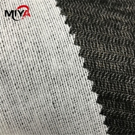 Buy cheap 50 Percent Viscose Black OEKO-TEX Fusible Interlining Fabric from wholesalers