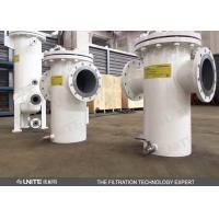 Buy cheap Bucket strainer filter for water treatment pre filtration IN water recycling industry from wholesalers