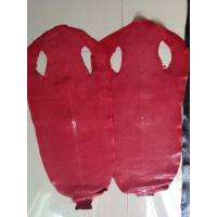 Buy cheap Genuine Polished Stingray/Shagreen Skin Hide Red from wholesalers