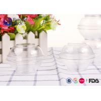 Buy cheap Disoisable Ps Transparent Plastic Cups With Lids Large Clear Plastic Salad Bowls from wholesalers