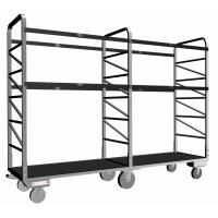 Buy cheap Galvanizing Surface Sorting Rack With Plastic Plate Deck For Parcel Collection from wholesalers