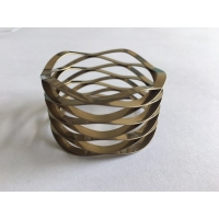 Buy cheap Custom high precision stainless steel square wire wave spring wave disc spring OD45mm from wholesalers