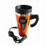 Buy cheap 12V Heated Car Mug with Temperature Sensor, 15oz from wholesalers