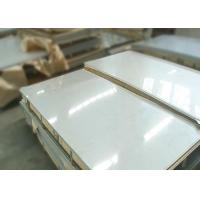Buy cheap Strong Corrosion Resistance Cold Rolled Stainless Steel Plate AISI 201 BA / 2B Finish from wholesalers