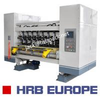 Buy cheap 03 Ply Corrugated Box Machine HRB-150-1800 Automatic 320mm Corrugated Roller from wholesalers
