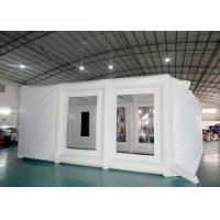 Buy cheap Fireproof Mobile Inflatable Paint Tent For Car Repair / Blow Up Spray Booth from wholesalers