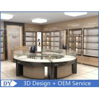 Buy cheap Round Glasses Jewellery Shop Counter Design Manufacturers from wholesalers