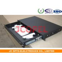 Buy cheap 24C Optical Distribution Box Fiber Patch Panel FTTH 1U Rack mount from wholesalers